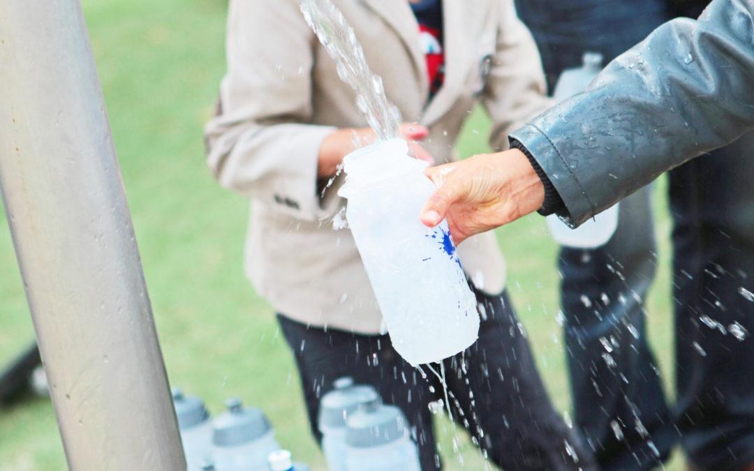Subsidie Watertappunt op schoolplein